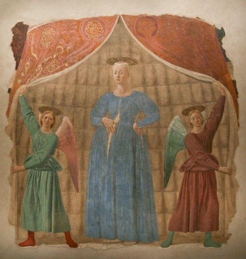 Piero della Francesca, Madonna del Parto (1460)